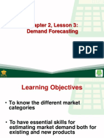 Chapter 2, Lesson 3Demand Forecasting