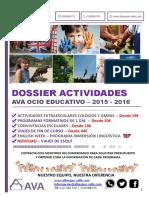 Dossier actividades