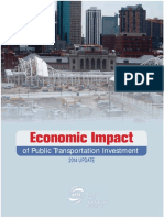 Economic Impact Public Transportation Investment APTA