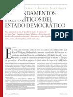 J. Habermas y J. Ratzinger - Los Fundamentos Prepolíticos Del Estado Democrático