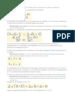 Propiedades Multiplicacion y Factor Comun