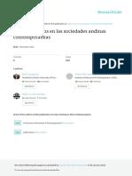 Infancia y Ninos en Las Sociedades Andinas Contemp