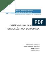 TFG Diseño Central Termoeléctrica de Biomasa