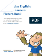 Cambridge English Young Learners' Picture Bank