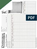 Land Record Sheet