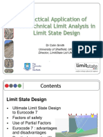 Eurocode 7 Geotechnical Limit Analysis