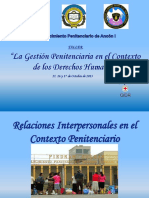Relaciones Interpersonales Ancón I