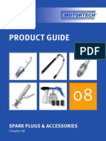 MOTORTECH Product Guide 01.00.001 08 Spark Plugs and Accessories en 2016 01