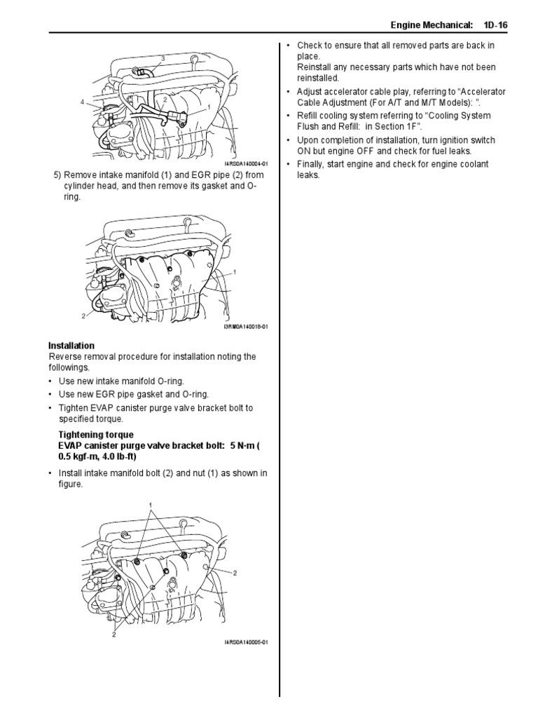 suzuki m16a pdf manual transmission vehicle technology Engine Timing Tools