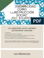 La Discapacidad Como Construcción Social (1)