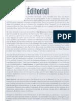 Secret d'Etat Aout 2010 Editorial