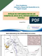 Tema 3. Problematica Contaminacion Agua en Ucayali