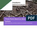 Smart Motors - Point Machine Monitoring