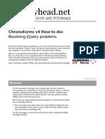 ChronoForms v4 Resolving JQuery Problems