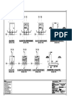 Arch Combined Footing & Column Reinforcement Details-Model