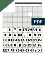 FL Font Table-SinRazon