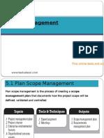 2. Scope Management