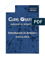 337430957 Curs Arduino Lectia1 ArduinoBlink PDF