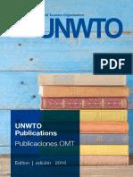 Unwto Catalogue 2016
