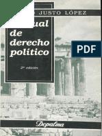 Manual de Derecho Politico - Mario Justo Lopez
