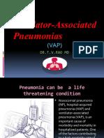 Ventilator Associated Pneumonias