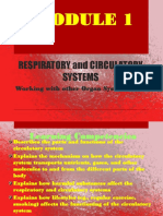 Respiratory and Circulatory Systems by Russil