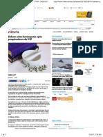 Debate sobre homeopatia opõe pesquisadores da USP - 26:05:2017 - Ciência - Folha de S.Paulo
