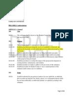 Proposed Subdivision Ordinance