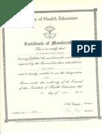 Membership Health Education