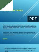 Schoollaus Daleru - Myasthenia Gravis