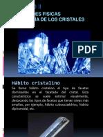 CAPITULO II Propiedades Fisicas Y MORFOLOGIA de Los Cristales