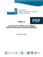 Producción Científica y Tecnológica Dentro de Una Nueva Ecuación