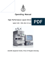 Original Operating Manual HPLC 1100