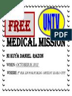 Medical Mission Ni Kuya Daniel Razon