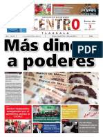 Más dinero a poderes #CentroTlaxcala