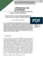 1209-4994-1-PB Lourenço - Prisão e Dinâmicas de Criminalidade