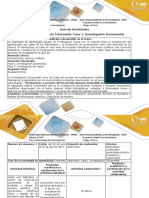 Guía de Actividades y Rúbrica de Evaluación - Paso 2 - Desarrollar La Revisión Documental Del Tema Propuesto