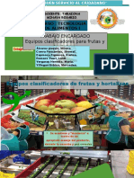Trabajo Encargado - Equipos Clasificadores Para F y H
