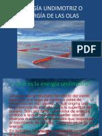 57527911 Energia Undimotriz o Energia de Las Olas