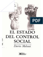 Melossi, Dario. El Estado Del Control Social
