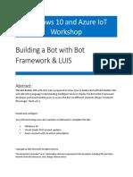 Bot Framework HOL