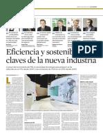 Eficiencia y Sostenibilidad, Claves de La Nueva Industria