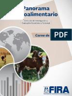 Panorama Agroalimentario Carne de Bovino 2017 1