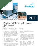 Hydro Screen tratamiento de aguas