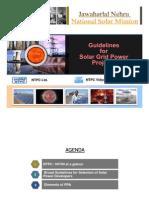 Guidelines Solar