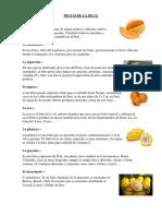 Frutas de La Selva