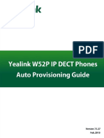 Yealink W52P IP DECT Phones Auto Provisioning Guide V73 27