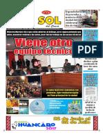Diario El Sol Del Cusco 30 06 17