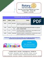 Programa Julho