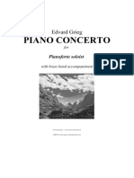Grieg's Piano Concerto with brass band